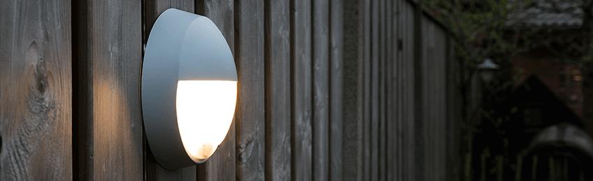 Lampe extérieurs avec détecteur