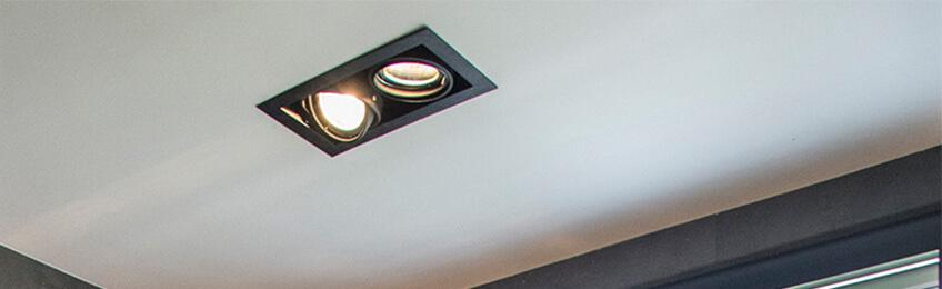 Spots LED plafond