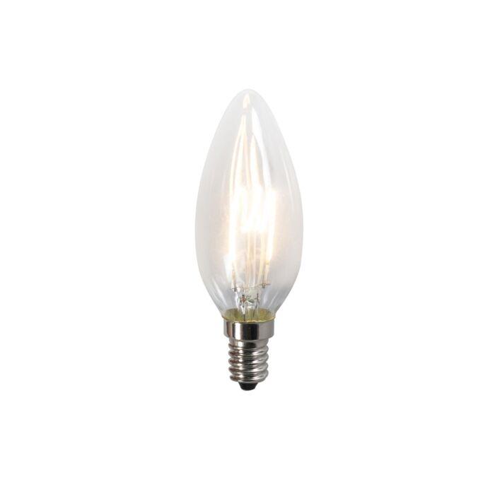 Ampoule-LED-filament-Spiral-C35-2W-2200K-brillant