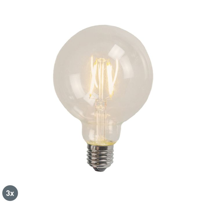 Ensemble-de-3-LED-E27-Glühlampe-4W-470-lumen-2700K