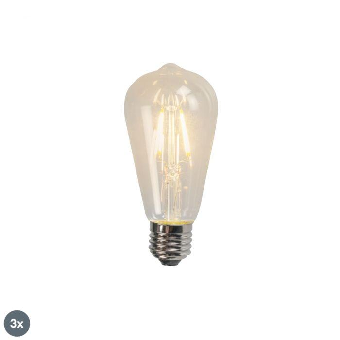 Ensemble-de-3-lampes-à-incandescence-à-LED-E27-ST64-4W-470LM-2700K