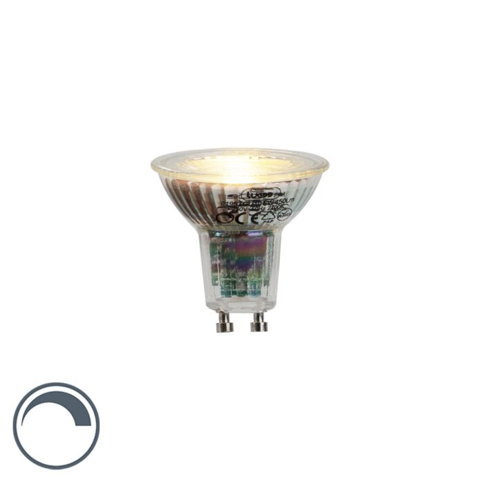 GU10-lampe-à-LED-6W-450-lumens-2700K-dimmable