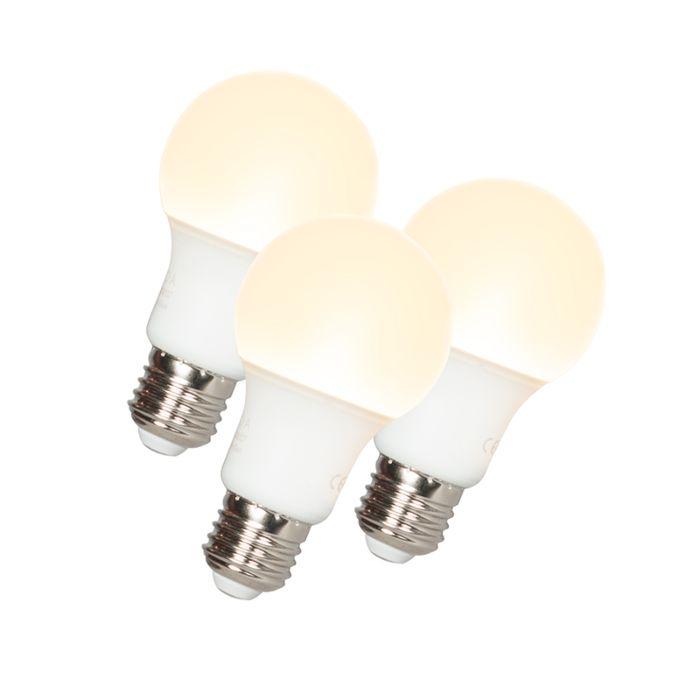 Ampoule-LED-A60-E27-9W-3000K-Pack-de-3
