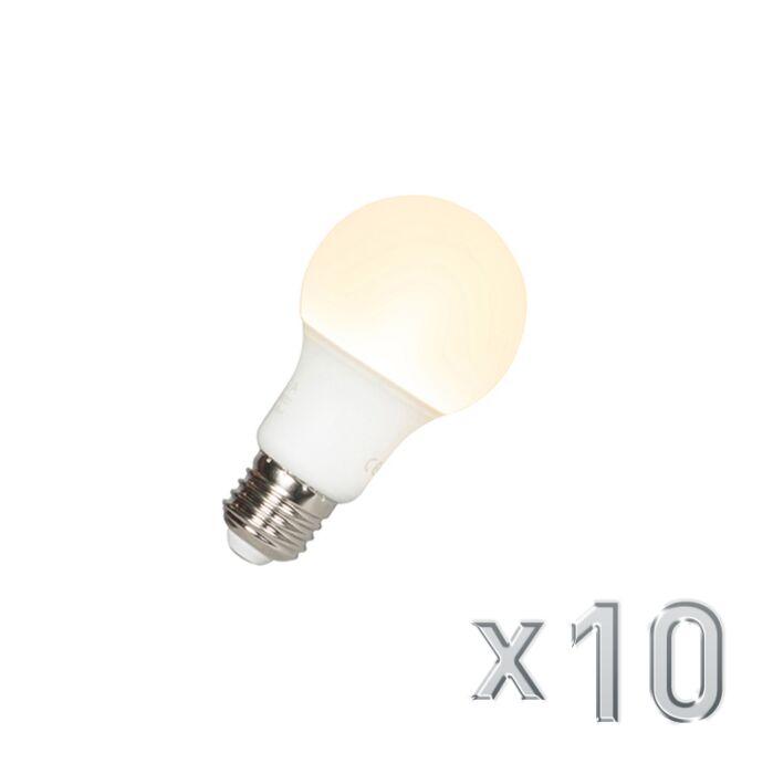Ampoule-LED-A60-E27-9W-3000K-Pack-de-10