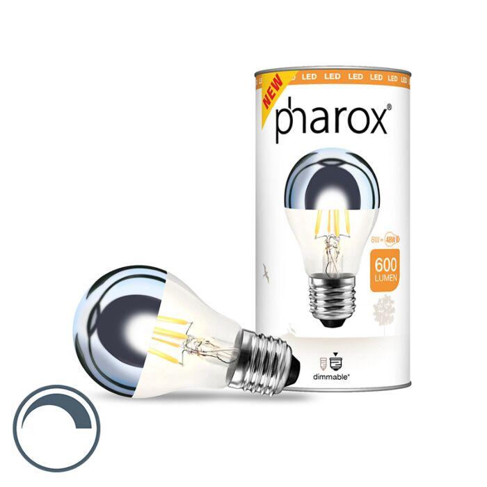 E27-dimmable-LED-tête-de-lampe-miroir-Pharox-6W-600-lumen