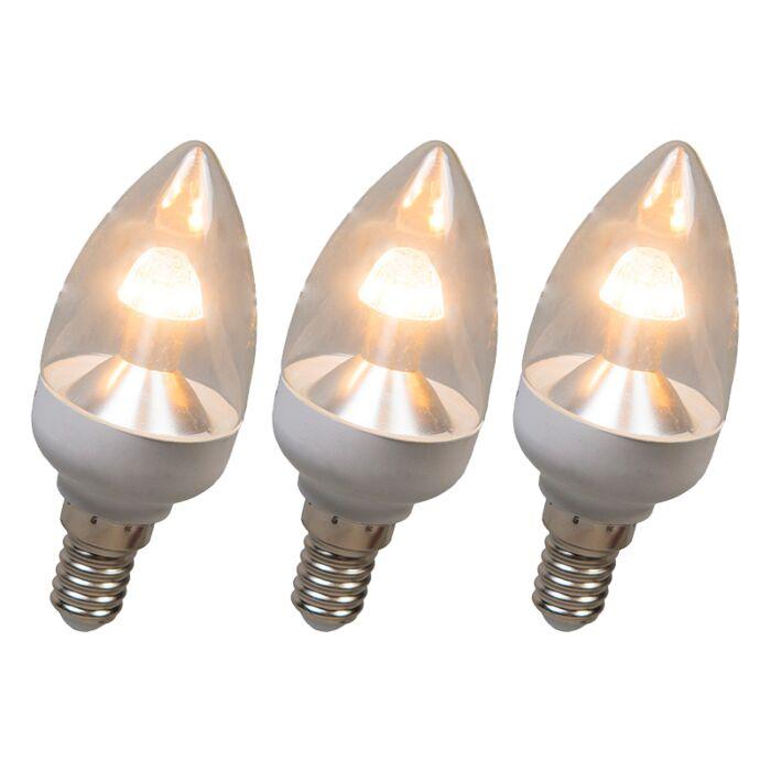 Ampoule-LED-E14-4W-250-lumen-blanc-chaud-dimmable-Pack-de-3