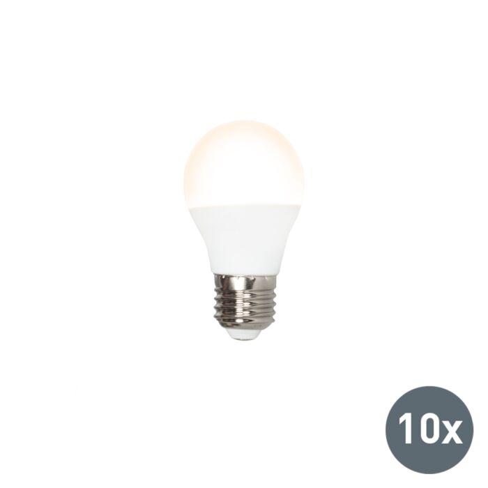 Pack-de10-ampoules-LED-G45-E27-5W-3000K