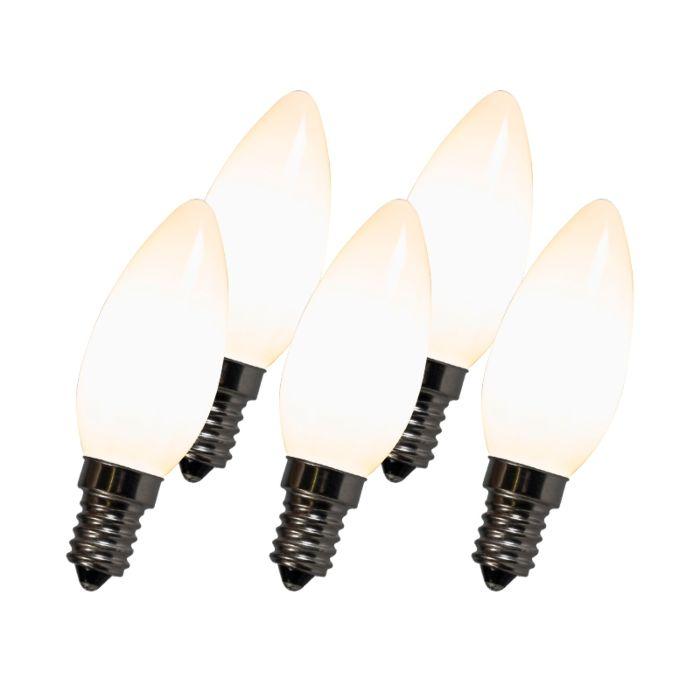 Lampe-à-filament-à-LED-C35-E14-2W-2700K-blanche-lot-de-5