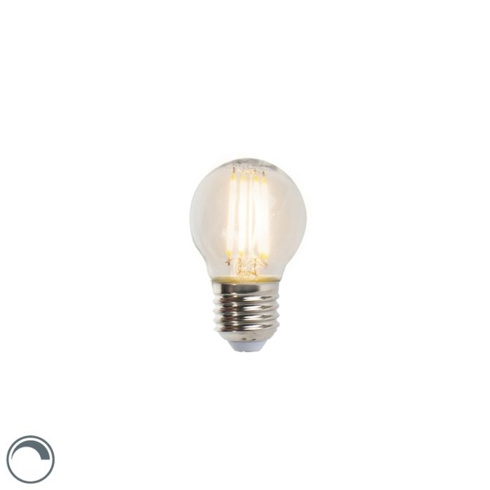 Lampe-balle-à-filament-à-LED-E27-5W-470lm-P45-dimmable