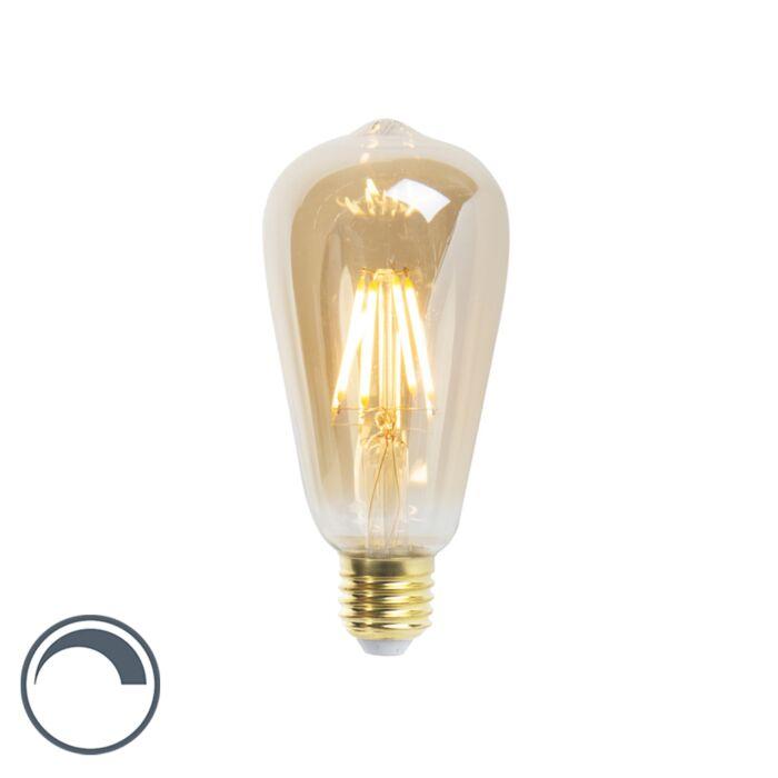 Lampe-à-incandescence-LED-E27-dimmable-ST64-5W-360-lumen-2200K
