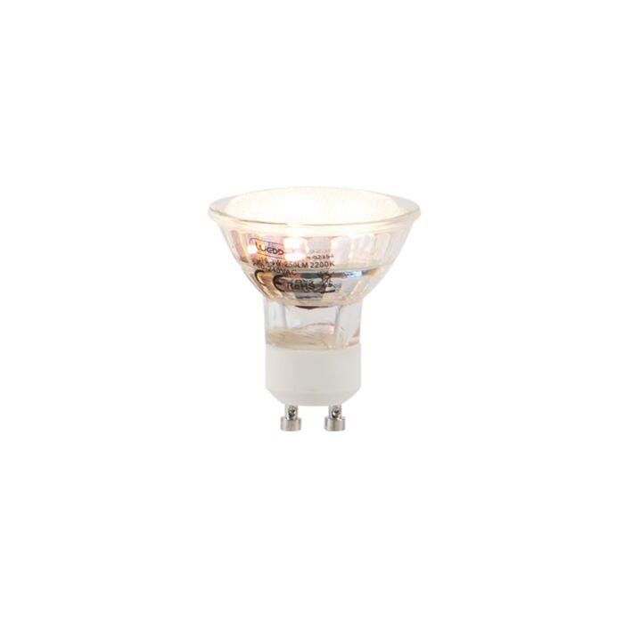 GU10-lampe-LED-3W-250LM-2200K