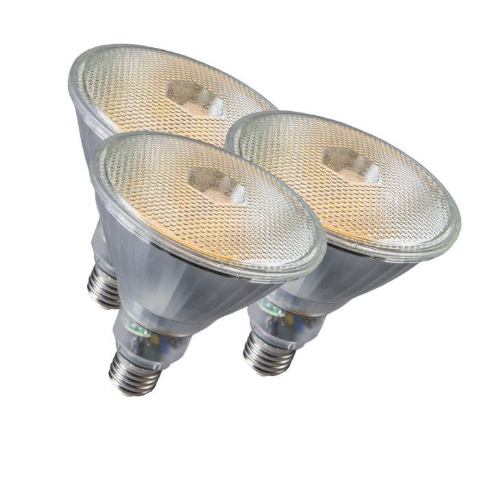 Set-de-3-lampes-Par38-E27-20W-800LM-2700K