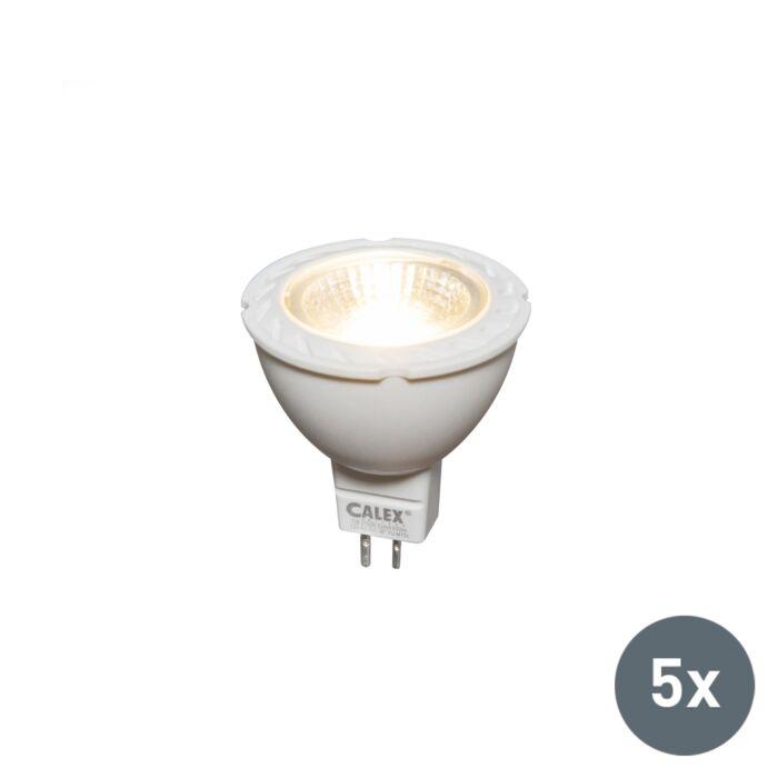 Set-de-5-ampoules-LED-MR16-7W-550-lumen