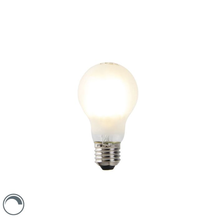 Filament-LED-dimmable-E27-verre-opale-A60-7W-806-lm-2700K