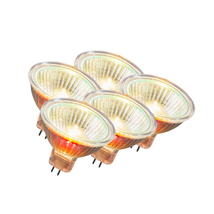 Lot-de-5-halogènes-MR16-12V