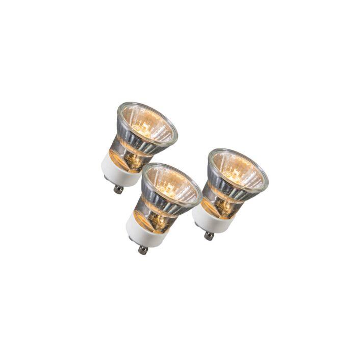 Ensemble-de-3-lampes-halogènes-GU10-35W-230V-35mm