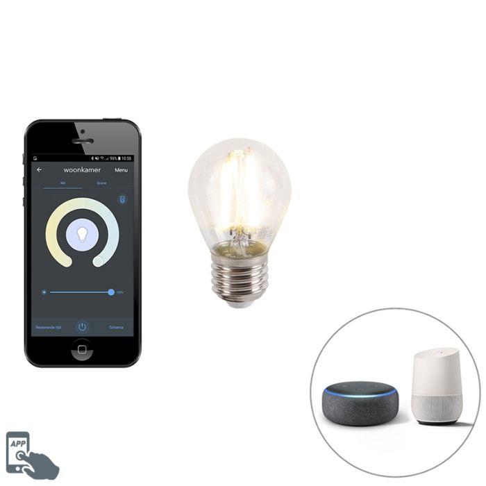 Lampe-LED-intelligente-E27-dimmable-avec-application-450-lm-1800-3000K