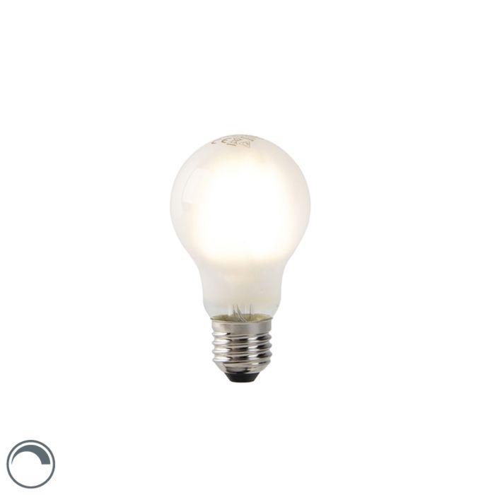 Lampe-à-incandescence-LED-E27-dimmable-A60-verre-dépoli-4W-320-lm-2700K