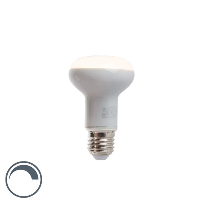 Lampe-à-réflecteur-LED-E27-dimmable-R63-5W-370-lm-2900K