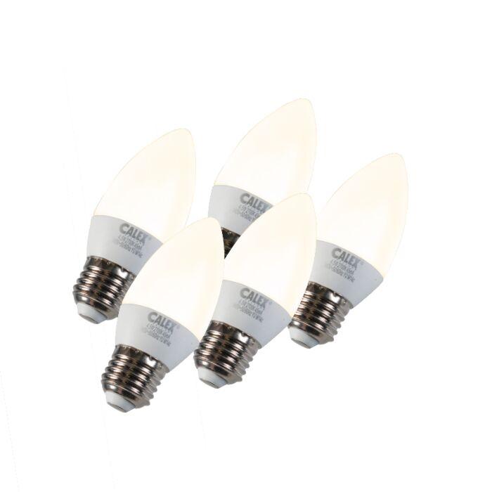 Set-de-5-LED-E27-5W-240V-2700K-dimmables