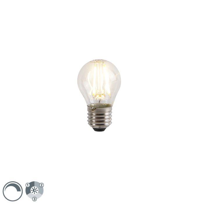 Lampe-LED-E27-P45-dimmable-3-niveaux-5W-2700K