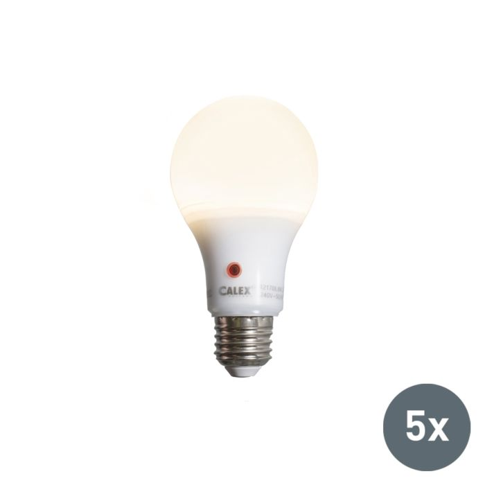 Set-de-5-ampoules-LED-A65-E27-8W-710-lumen-avec-capteur