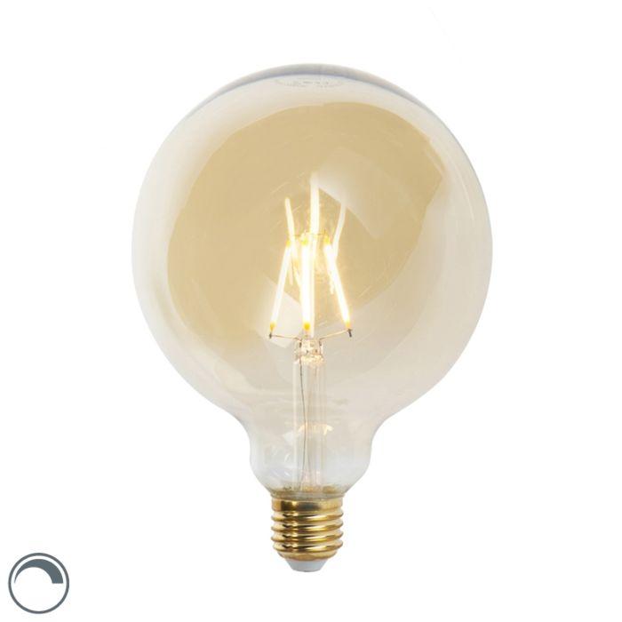 Lampe-à-incandescence-LED-E27-dimmable-G125-goldline-5W-360-lm-2200K