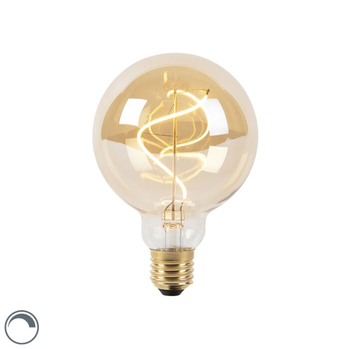 Lampe-à-filament-en-spirale-LED-dimmable-E27-G95-goldline-200lm-2100K