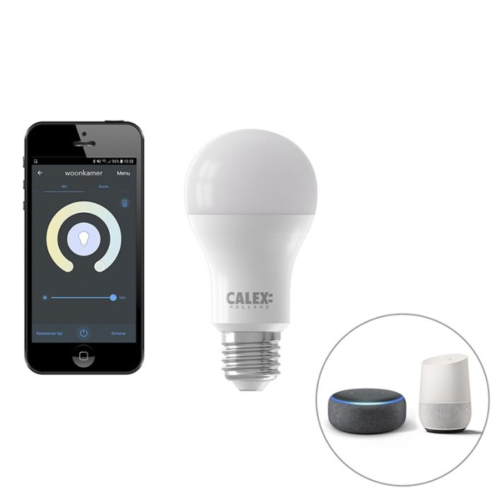 Lampe-LED-intelligente-E27-dimmable-avec-application-806-lm-2200-4000K