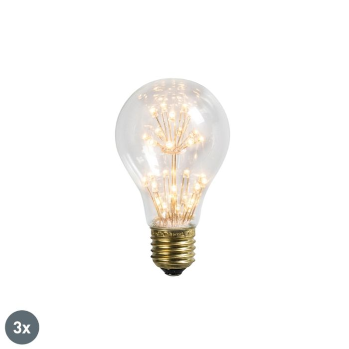Lot-de-3-lampes-LED-E27-1.4W-/-136LM