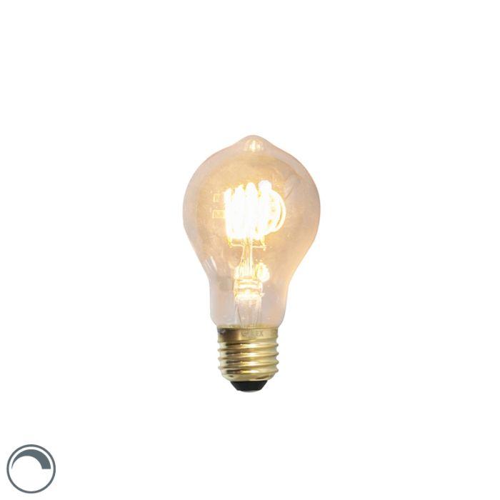 Lampe-à-filament-torsadée-LED-E27-dimmable-4W-200lm-2100-K