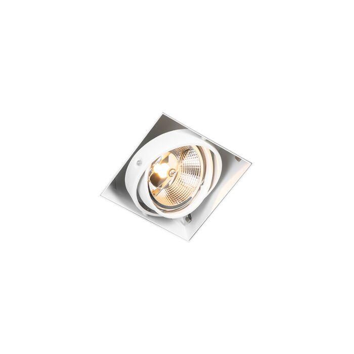 Spot-encastrable-blanc-GU10-AR111-trimless-réglable---Oneon