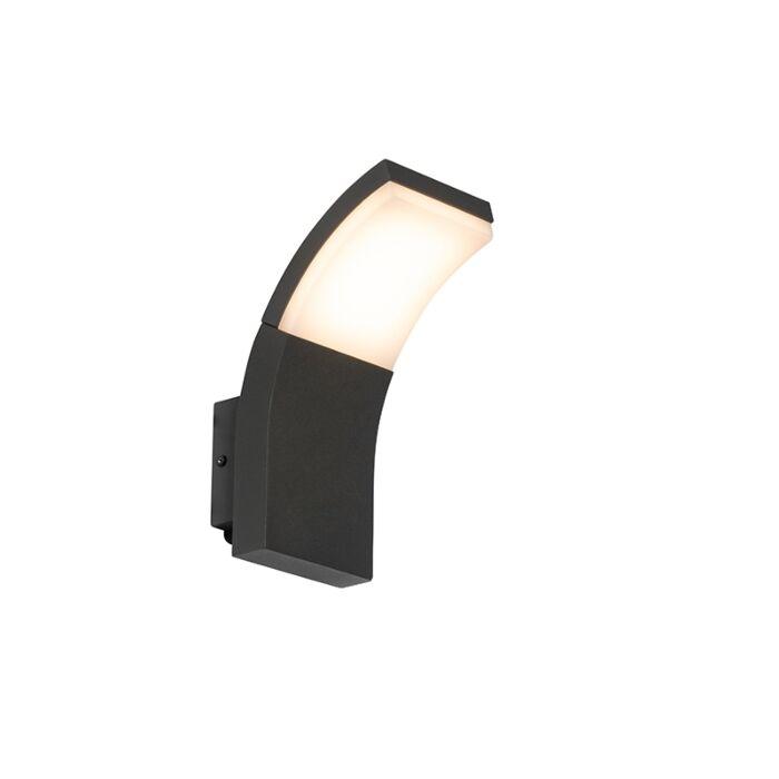 Applique-d'extérieur-moderne-anthracite-avec-LED-IP54---Litt