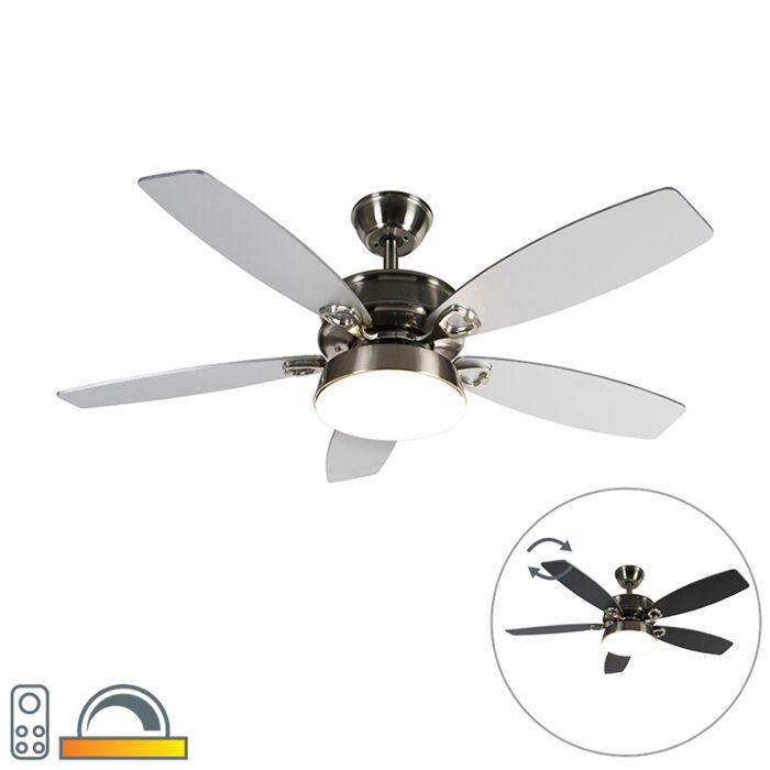 Ventilateur-de-plafond-en-acier-avec-télécommande-avec-LED---Malaki