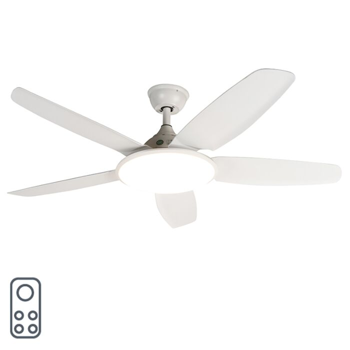 Ventilateur-de-plafond-blanc-avec-télécommande---Vifte