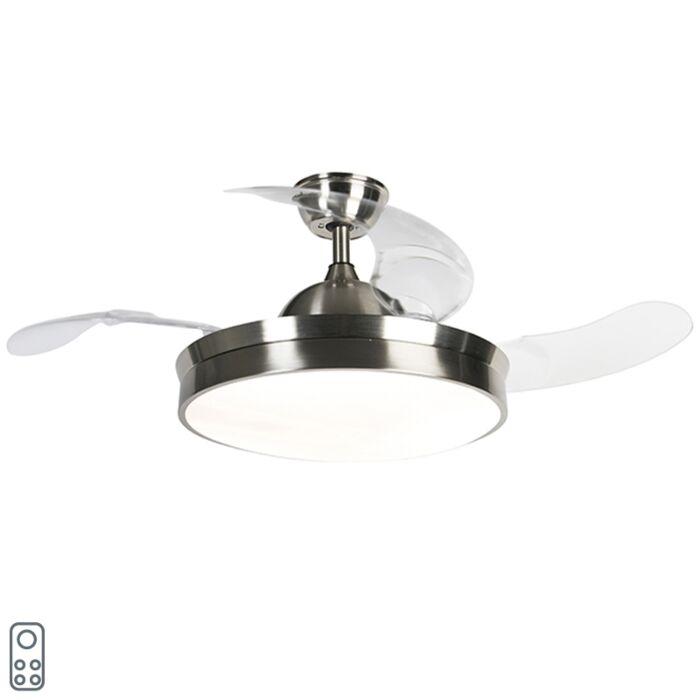 Ventilateur-de-plafond-en-acier-avec-LED-et-télécommande---Xiro