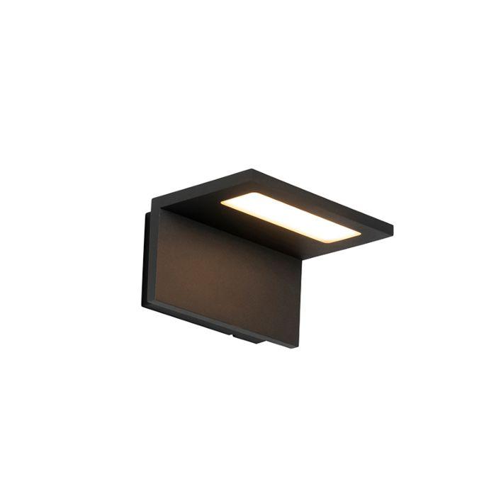 Applique-d'extérieur-moderne-anthracite-avec-LED-IP54---Harvey