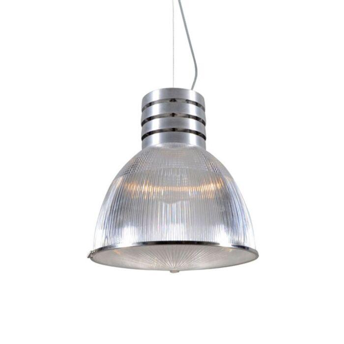 Lampe-à-suspension-industrielle-en-acier---Industrie