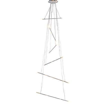 Lampe-suspendue-Miko-chrome