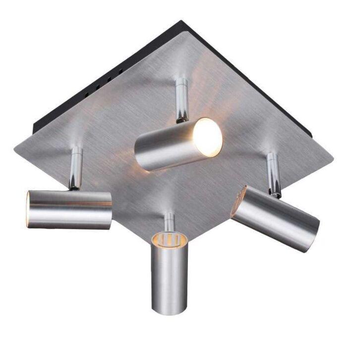 Spot-Oslo-4-en-aluminium