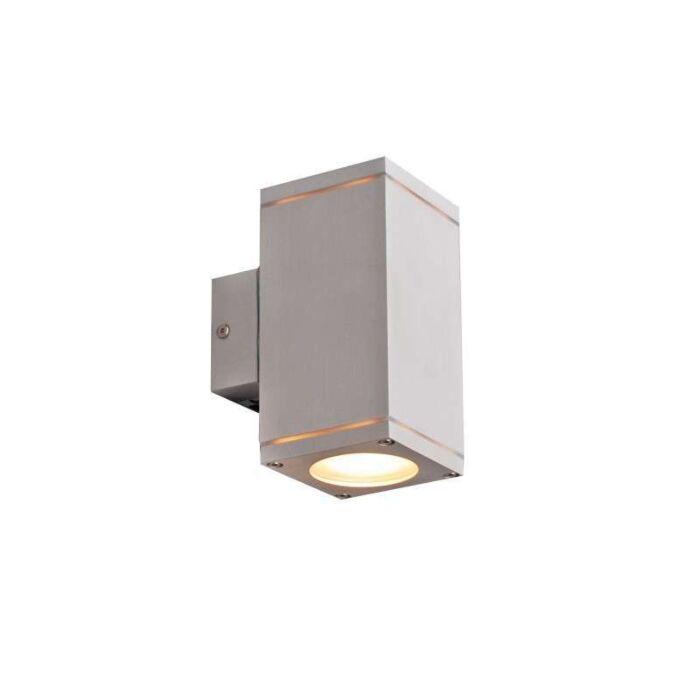 Lampe-d'extérieur-Quadro-up-down-en-aluminium