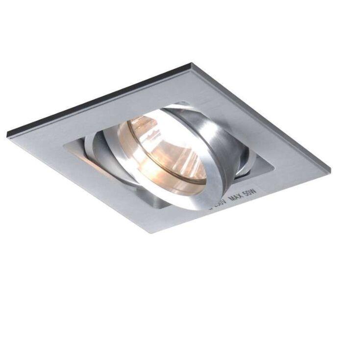 Spot-encastré-Quadro-1-en-aluminium