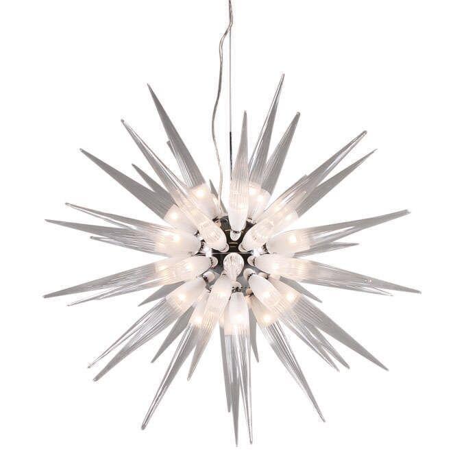 Lampe-suspendue-Sun-White-45-lumières