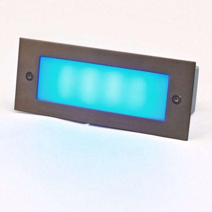 Lampe-à-encastrer-LED-LEDlite-Recta-17-bleu