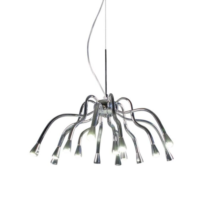 Suspension-Angeline-LED-chrome