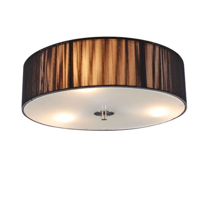 Plafonnier-corde-rond-40-anthracite