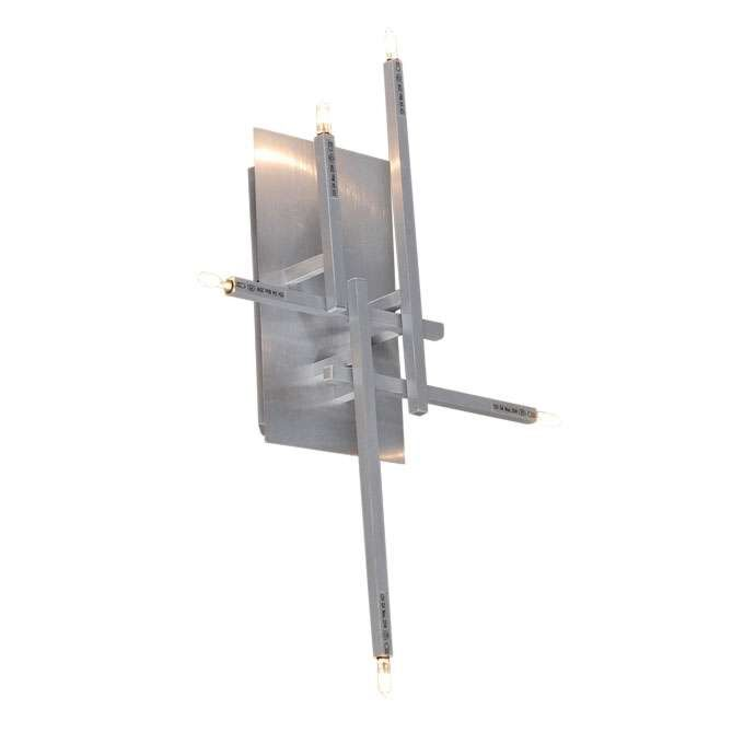 Applique-/-Plafonnier-Rodi-5-aluminium