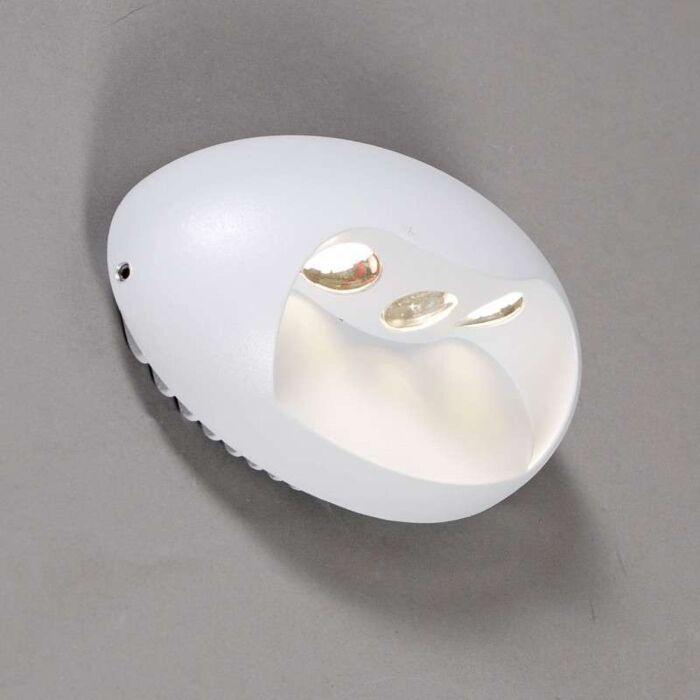 Applique-Pole-LED-blanc