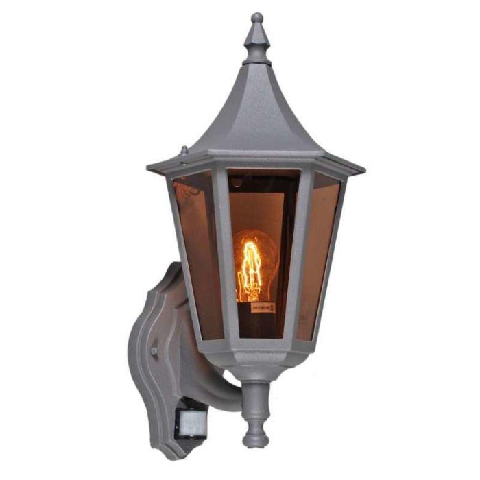 Lampe-d'extérieur-President-Wand-graphite-avec-détecteur-de-mouvement-IR