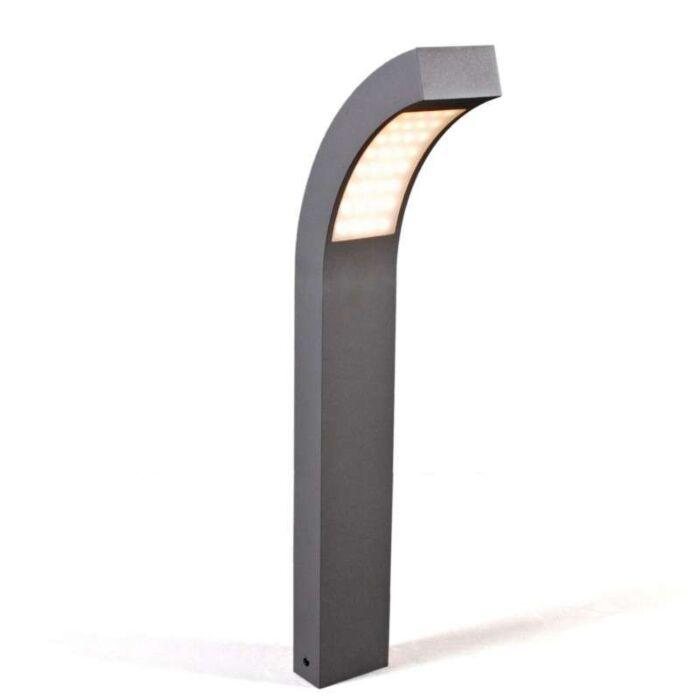 Lampe-d'extérieur-Sweden-LED-P60-graphite